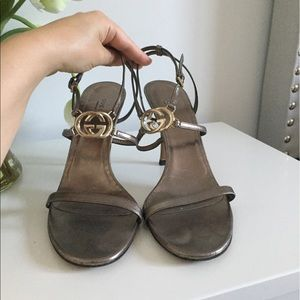 Sexy GUCCI GG sandals